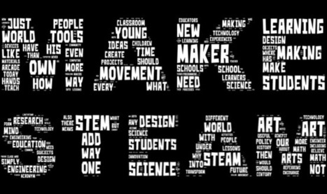 MAKE STEAM: Giving Maker Education Some Context | Design in Education | Scoop.it