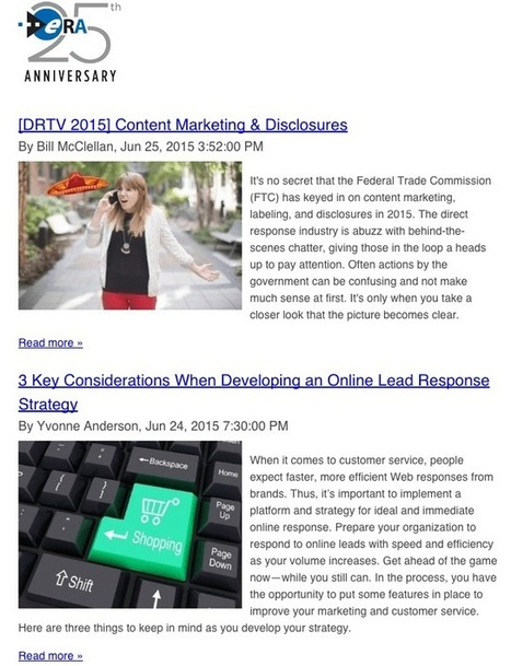 can your association blog replace your newsletter | Inbound MarTech | Leaders' Edge | Scoop.it