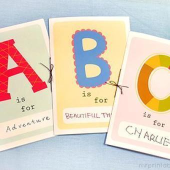 Printable ABC Book {Letters} | Literacia no Jardim de Infância | Scoop.it