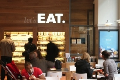 Eat rolls out new identity and interiors | News | Design Week | Vibe - bringing life to brands | Scoop.it