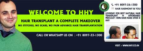 Best Hair Transplant Clinic - No Pain, No Scars, No Stitches Hair Transplantation - HHY | Transform Your Personality from Confused to Confident With Hair Transplant | Scoop.it