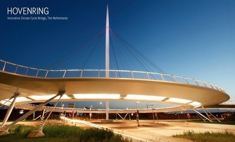 Hovenring: The First Suspended Bicycle Roundabout | Architecture and Architectural Jobs | Scoop.it