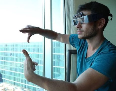 How Meta 1 augmented reality 3D glasses will deliver knockout punch to Google Glasses | DamnGeeky | Scoop.it
