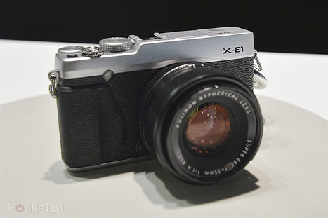 Fujifilm X-E1 pictures and hands-on - Pocket-lint | Fujifilm X-E1 | Scoop.it