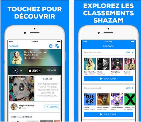 Shazam : maintenant compatible Spotify et Rdio - Zone Numérique | In the attic : geekeries culturelles | Scoop.it