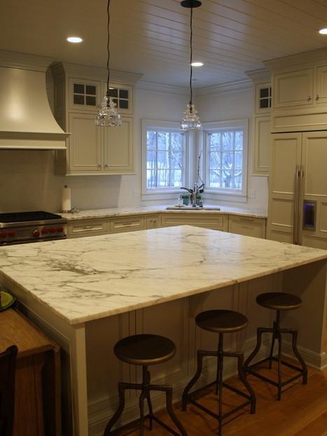 Marble Kitchen Countertops Design Ideas, Pictures, Remodel, and Decor | Marble Kitchen Countertop Designs in Alpharetta | Scoop.it