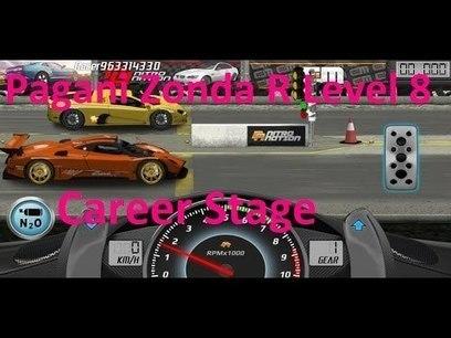 Drag Racing Pagani Zonda R Career Stage 8 | autoauthoritys | Scoop.it