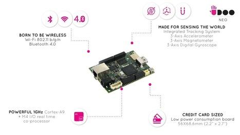 UDOO Neo: IOT and desktop computing for $50 | Raspberry Pi | Scoop.it
