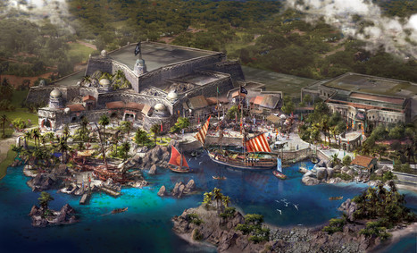 Disney reveals image of Shanghai resort's 'Pirates'-themed land - Los Angeles Times | Disney and Identity | Scoop.it