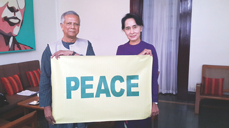 Yunus discusses social business with Suu Kyi - The Daily Star | Digital-News on Scoop.it today | Scoop.it