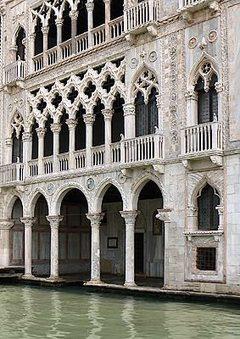 Palais de la Ca' d'Oro à Venise   Histoire des arts à Orlinde   Scoop.it