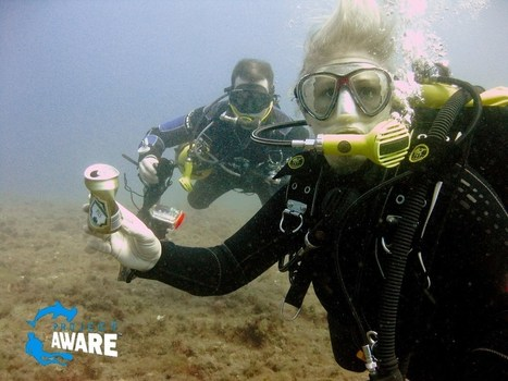Dive with a purpose - Dive Against Debris™ with Project AWARE | All about water, the oceans, environmental issues | Scoop.it