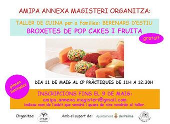 Amipa Annexa Magisteri: Taller de cuina en família: 11 de maig   Activitats educatives en família   Scoop.it