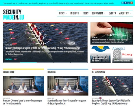 SECURITYMADEIN.LU is the main online source for cyber security in Luxembourg | eSkills | Luxembourg (Europe) | Scoop.it