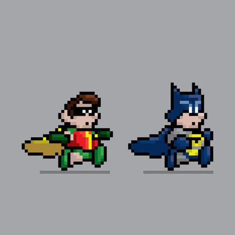 J. Castaneda : 8 Bits Pixelated Heroes   All Geeks   Scoop.it