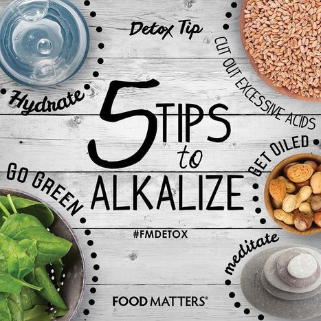 5 Tips to Alkalize and Detox | Nutrition Today | Scoop.it