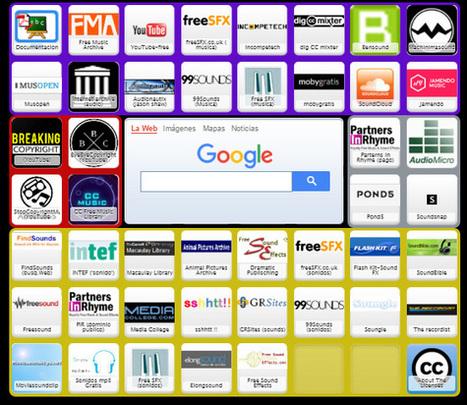 Bancos de música y sonidos CC-Symbaloo | FOTOTECA MUSICAL | Scoop.it
