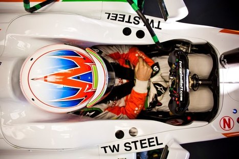We love this Big Time image of the Sahara Force India F1 Team currently testing... | TW Steel Watches | Scoop.it