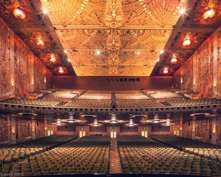 Beautiful Symmetry and Silence of Empty Movie Theaters | For Art's Sake-1 | Scoop.it