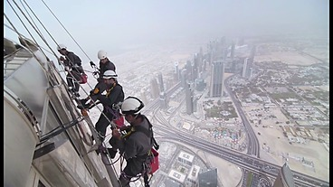 BBC One - Supersized Earth, A Place to Live, Burj Khalifa Window Cleaning | städning | Scoop.it