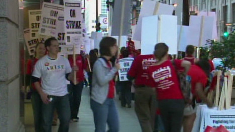 My view: From the picket lines | Chicago teachers on strike | EFL-ESL, ELT, Education | Language - Learning - Teaching - Educating | Scoop.it