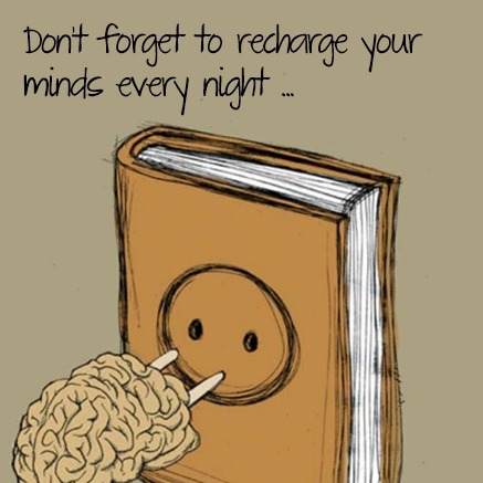Recharge your minds! | Reading books | Scoop.it