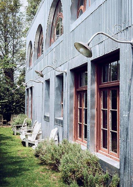 En Uruguay, une maison entièrement conçue avec du matériel et du mobilier de récupération - Marie Claire Maison   Décoration_PlusDeCoton   Scoop.it