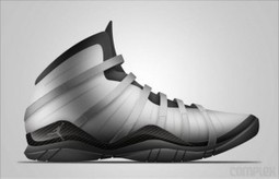 Kicks : un designer invente les Air Jordans version hi-tech | Digital news | Scoop.it
