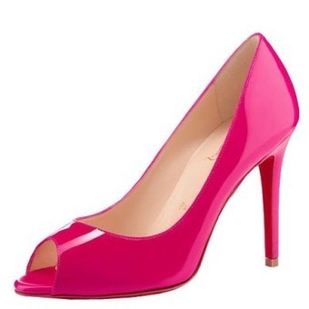 Sale red bottom heels-Christian Louboutin You You 100mm pumps fuschia patent leather | Sale Red Bottom Heels | Scoop.it