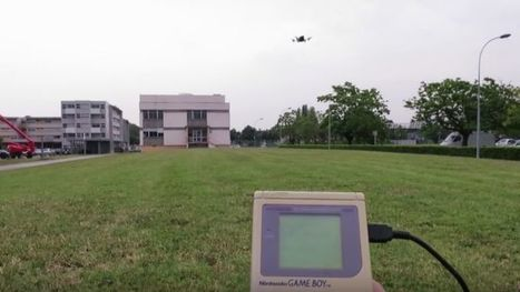 Don't Throw Out Your Game Boy Classic; Use It To Pilot a Drone Instead | News we like | Scoop.it