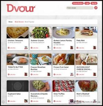 Dvour le réseau des passionnés de cuisine | le foyer de Ticeman | Scoop.it