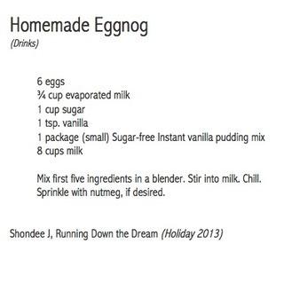 Homemade Eggnog | Best Fitness Challenge | Scoop.it