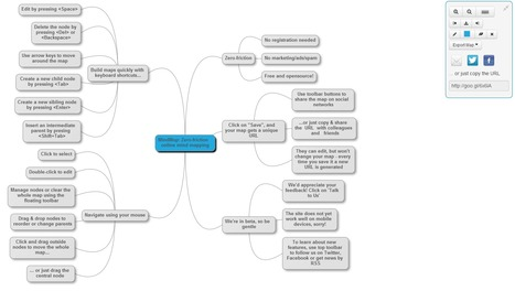 MindMup : Zero-Friction Free Online Mind Mapping | Time to Learn | Scoop.it