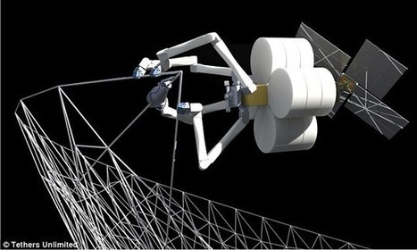 Radical new robots can spin 'webs' in orbit to buildspacecraft | Business Video Directory | Scoop.it