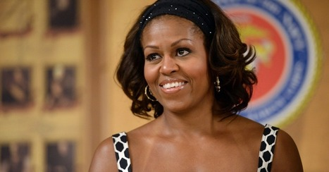 Michelle Obama Photobombs LeBron With Impressive Slam Dunk | Prozac Moments | Scoop.it