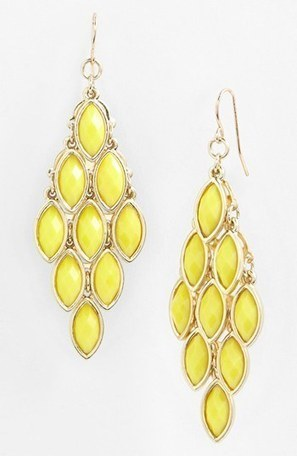Tasha Stone Chandelier Earrings | Nordstrom | Mahattan | Scoop.it