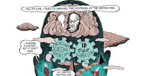 Freud's Life and Legacy, in a Comic | Psykologia | Scoop.it