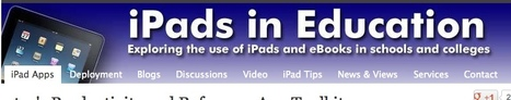 Educator's Productivity and Reference App Toolkit - iPads in Education | mLearning in Education | Scoop.it