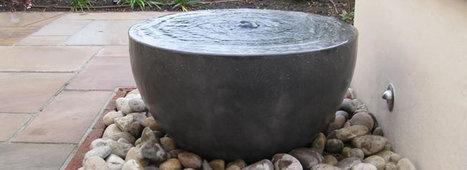 Water Feature by Stewart Landscapes | Building a beautiful garden | Scoop.it
