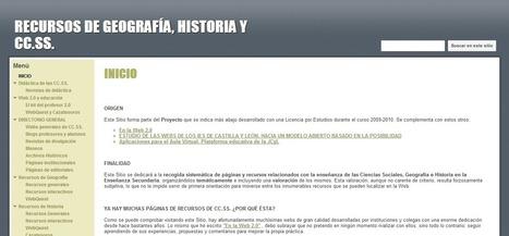 Blog Docente: RECURSOS DE GEOGRAFÍA, HISTORIA Y CC.SS. | Geografía e Historia | Scoop.it