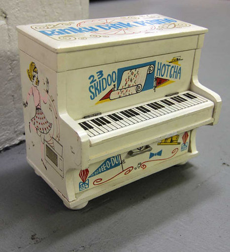 Vintage 1950's Kitschy Rinky Dink Piano Collectible Girls Jewelry Box Music Box Roaring 20s Re-Vamp | Kitsch | Scoop.it