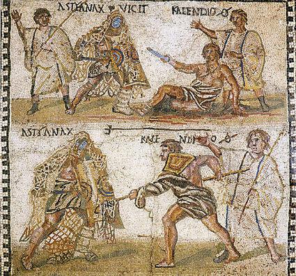 Gladiadores: sangre y muerte en la arena | GLADIADORES Y GLADIATRICES DE LA ANTIGUA ROMA | Scoop.it