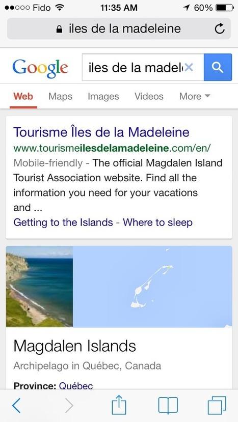 Google aime (encore plus) le mobile | Veille Etourisme de Lot Tourisme | Scoop.it
