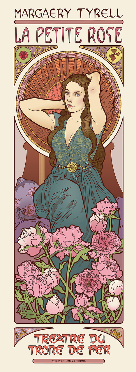 Game of Thrones Art by Elin J | Cris Val's Favorite Art Topics | Scoop.it