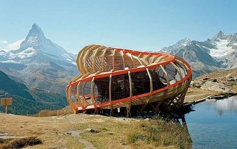 Evolver by Alice Studio: spiraling structure in the mountains | zyxxle | Scoop.it