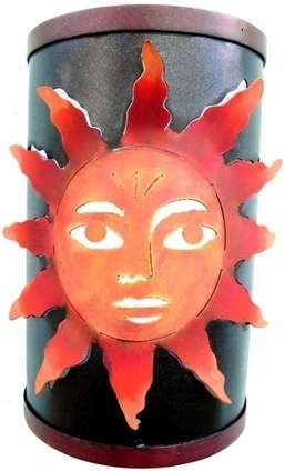 Sun Wall Sconce | Mexican Furniture & Decor | Scoop.it