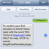 Text-to-give upheaval threatens to rewrite mobile fundraising ... | Fundraising DM | Scoop.it