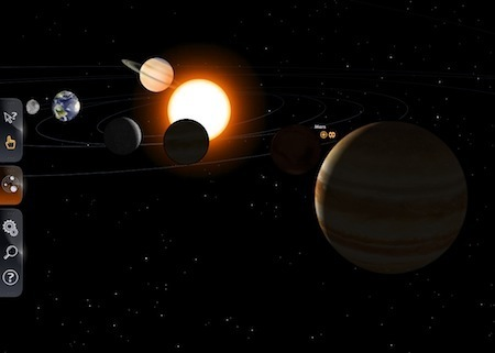 Le système solaire à portée de clic et en 3D | Séminaire Sciences | Scoop.it