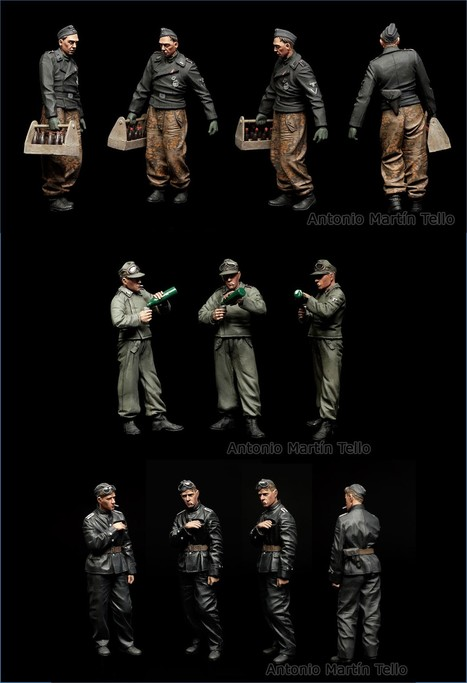 Some figures for an incoming dio | Military Miniatures H.Q. | Scoop.it