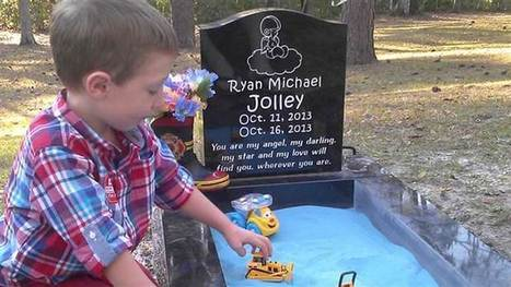 Grief and healing: Mom adds sandbox to baby's grave so son can 'play' with brother - TODAY.com   Healing Grief   Scoop.it